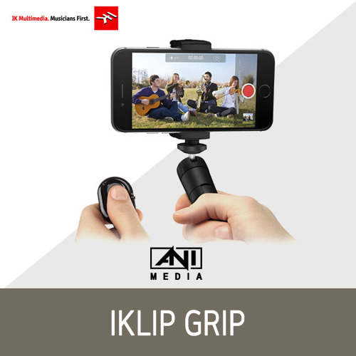 [IK Multimedia] iKlip Grip